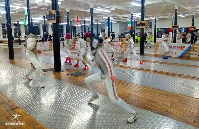 Salle Kiss fencing club